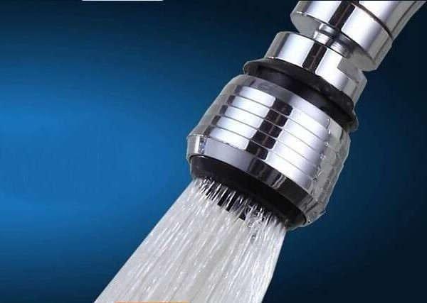 Экономия воды с насадкой-аэратором