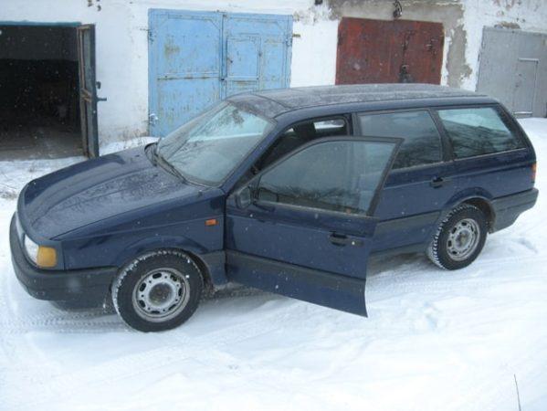 Моя первая машина - Volkswagen Passat B3