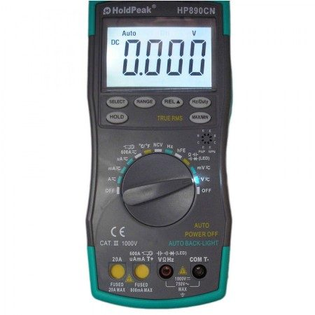 Мультиметр Holdpeak HP-890CN