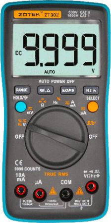 Мультиметр ZT-302