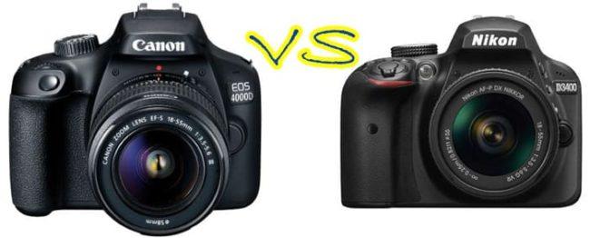 Canon или Nikon – какой зеркальный фотоаппарат лучше