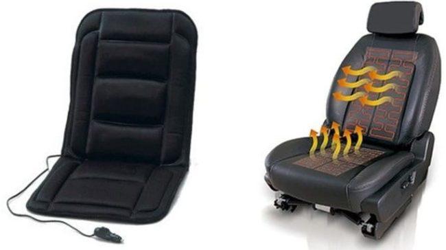 Накидки для обогрева сидений работают от прикуривателя