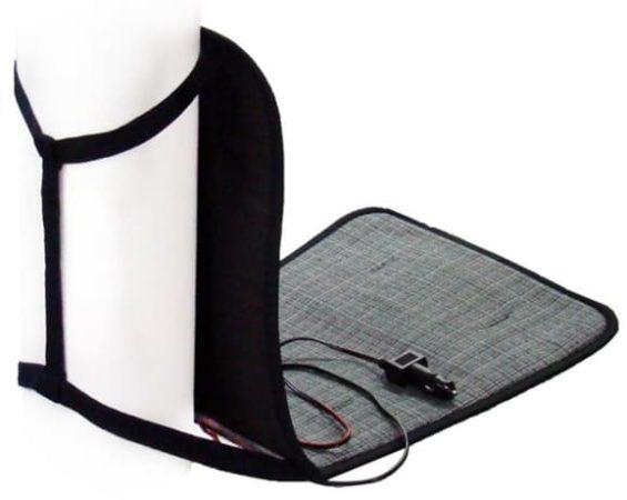 Регулятор нагрева может быть расположен прямо на вилке для подключения к разъему прикуривателя