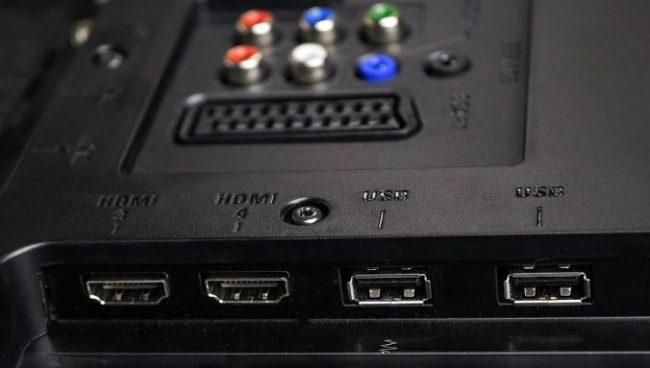 HDMI и USB – наиболее важные разъемы
