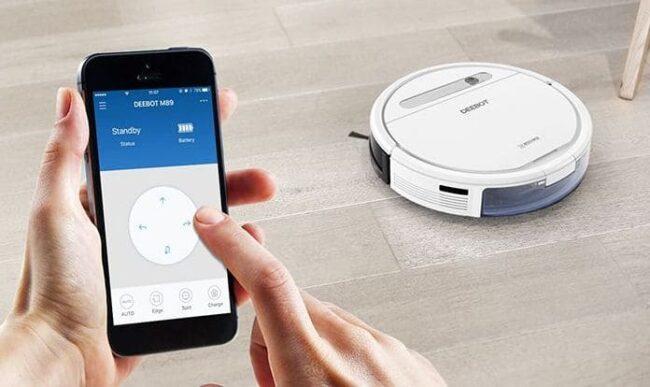 Наиболее продвинутые модели поддерживают управление по Wi-Fi со смартфона